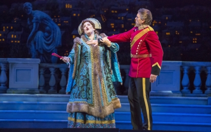 "11/11/15 2:36:49 PM -- The Lyric Opera of Chicago Presents ""The Merry Widow"" Renee Fleming © Todd Rosenberg Photography 2015"